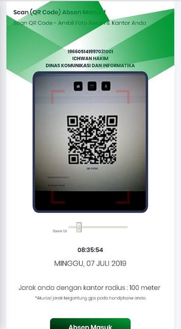 scan presensi qrcode manual smart presensi gps qrcode capture foto