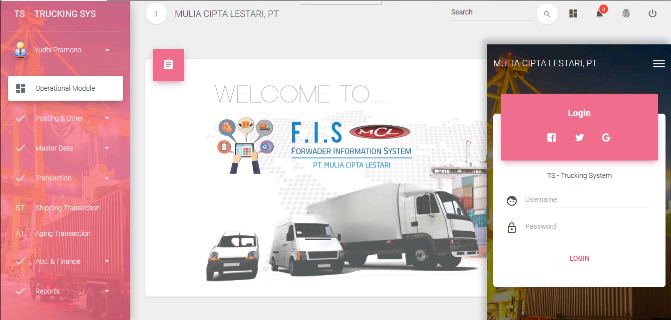 Trucking Information System